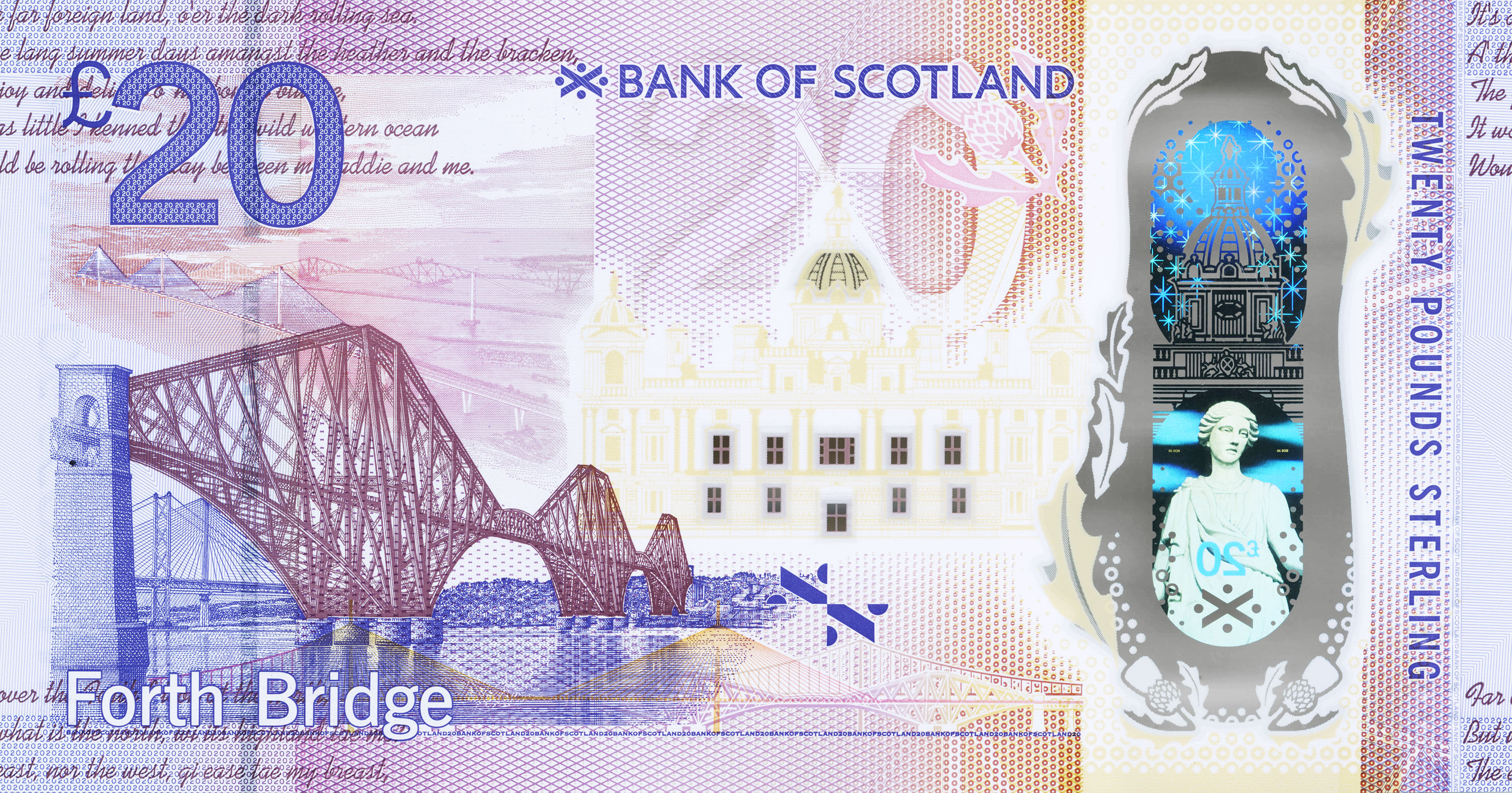 New Scottish £20 enters circulation