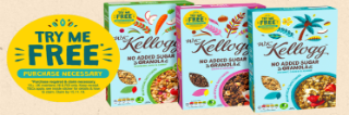 How to get £4ish Kellogg's granola for free