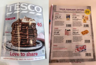 tesco magazine coupons online