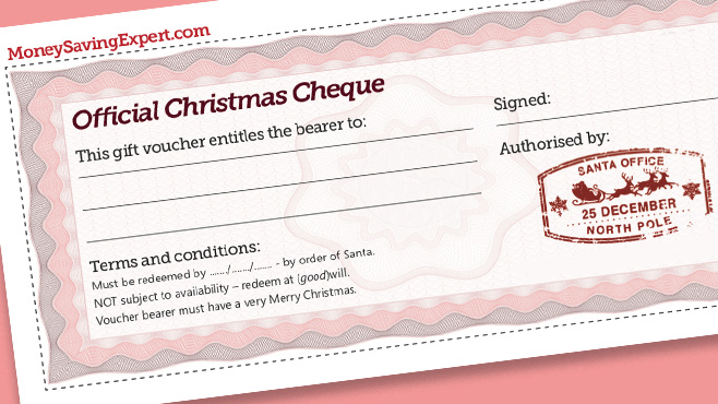 f8c6009a6fc Free Christmas Gift Cheques  Pledge to do something nice