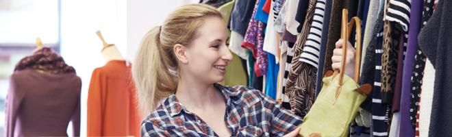 4ee1f243 Charity shop bargain-hunting tricks