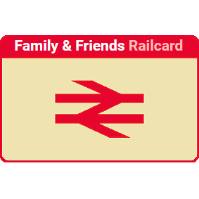 Family & Friends Railcard Black Friday 20% off