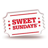 Free Sunday cinema ticket with £2 of sweets