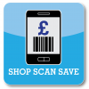 Smartphone grocery coupons with Shop Scan Save