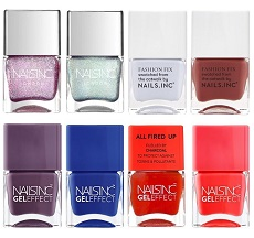 Nails Inc eight-piece set