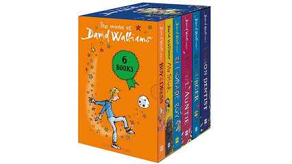David Walliams kids' books £16 delivered