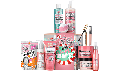 Soap & Glory 'Sweet Tin-tations' £30