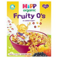 Hipp Organic Fruity O's breakfast cereal