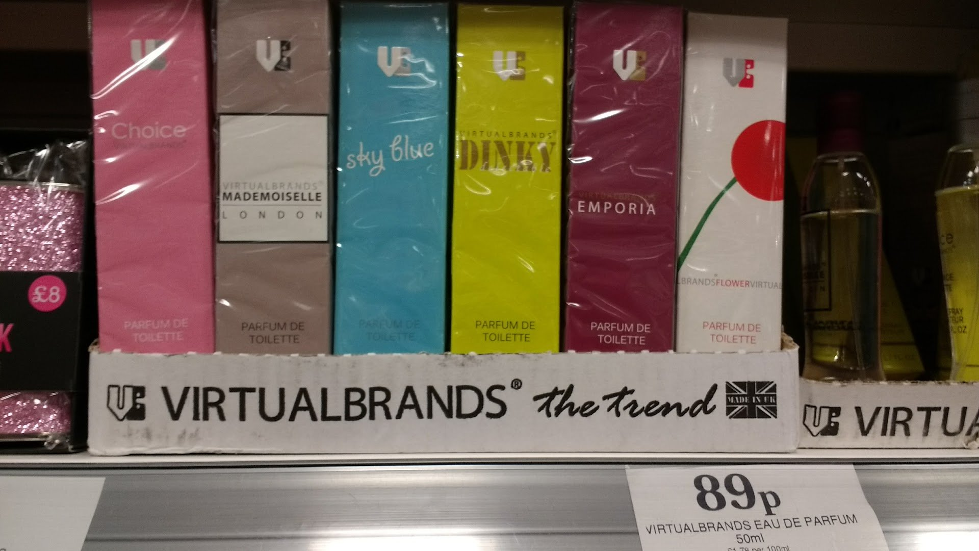 Home Bargains 89p smell-alike perfume dupes