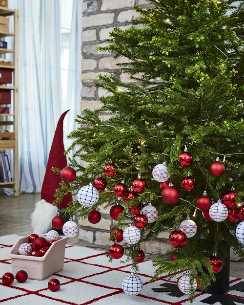 If you got the Ikea advent calendar that came with £10+ vouchers, Ikea's confirmed to us that you can use your vouchers towards buying a Christmas tree.