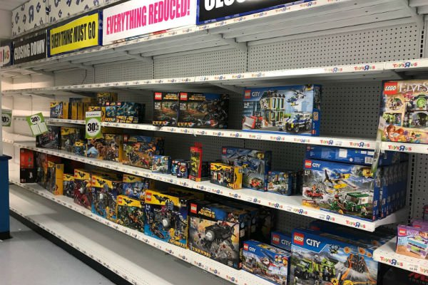 Lego reduced in Toys R Us sale