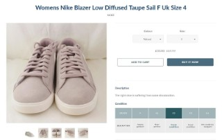 huge discount c5946 7a9f7 Strong deals we ve spotted at Offcuts include women s Nike Blazer trainers  for £33 (norm £69.99) and men s Ralph Lauren trainers for £28 (norm £58.99).