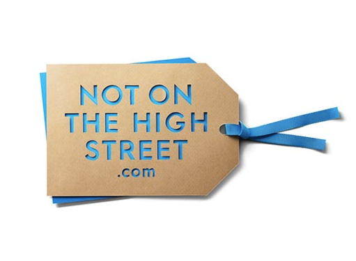 Not On The High Street 15% off £50 spend