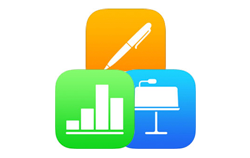 Apple iWork apps: Pages, Numbers and Keynote