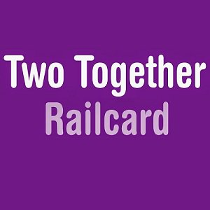 Two Together railcard £27 - gets couples 1/3 off fares