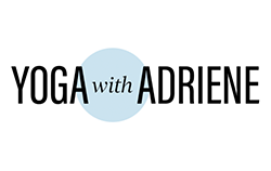 Yoga with Adriene logo.