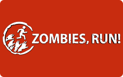 Zombies, Run! logo.