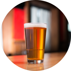 Free pint or soft drink via app