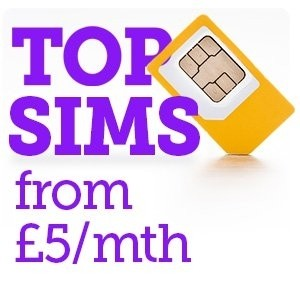 best sim only deals compare the best offers from 5 a month