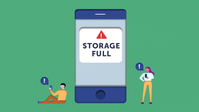 How to increase Android and iPhone storage - MSE