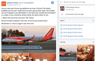fake EasyJet competition