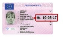check driving license pass date