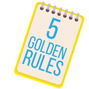 5 golden rules of investing