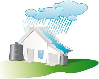 using rainwater for flushing
