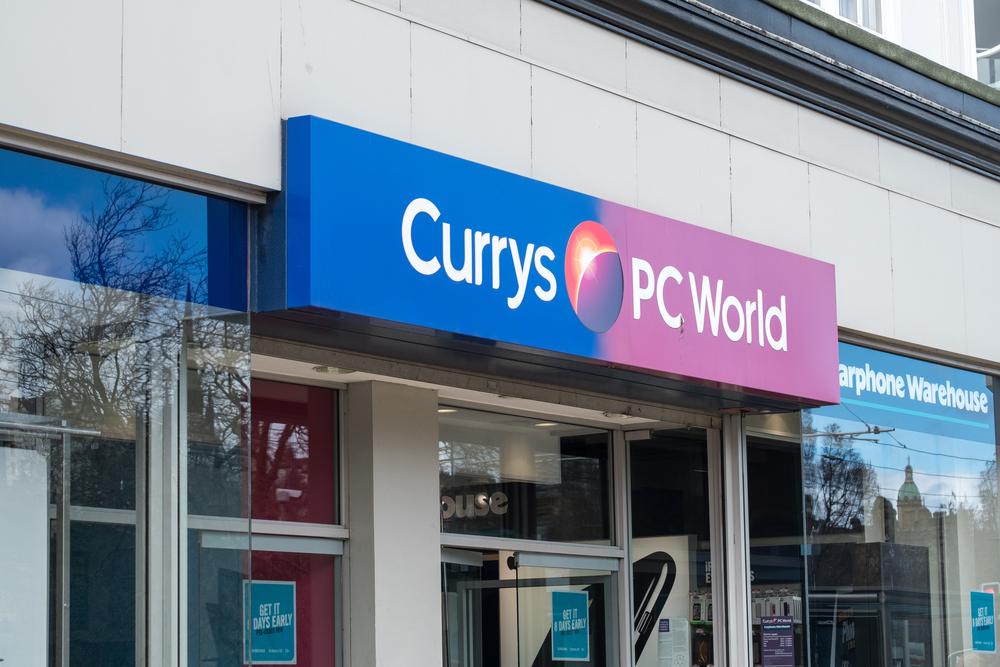 Currys PC World gift cards wiped