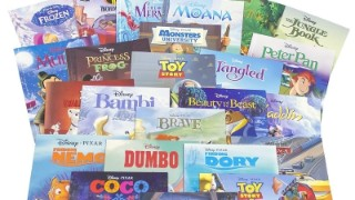 24 Disney kids' books for £10 delivered