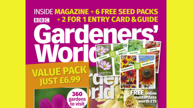 ‌Free £13 seeds via £7 magazine