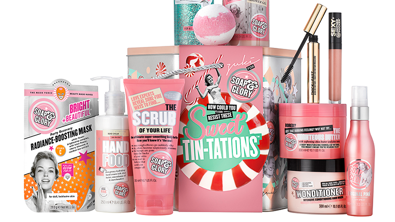 Soap & Glory gift set £30 (norm £60)
