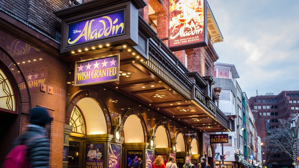 lowest price 305fc 0528b ... give you the chance to buy seats that can cost £100+ (depending on the  show) for just £10-£25 including Disney s Aladdin, Hamilton, Matilda and  more.