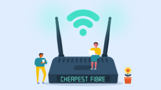 Cheapest fibre b'band & line in 3yrs