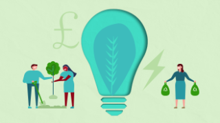 Save £300+/yr with 100% renewable energy