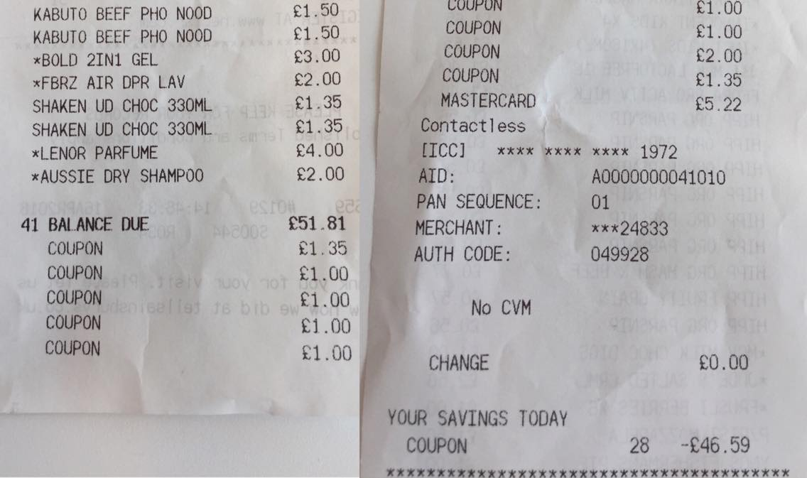 photograph relating to Mark Ten Printable Coupons named How I bought £68 of procuring for £5 with discount codes (and by yourself can