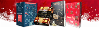 Quirky advent calendars including wine, cheese and crisps