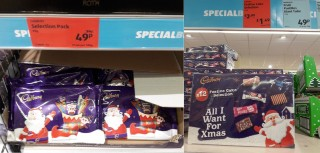 Can You Find Cheap Post Christmas Chocs Eg 25p Giant