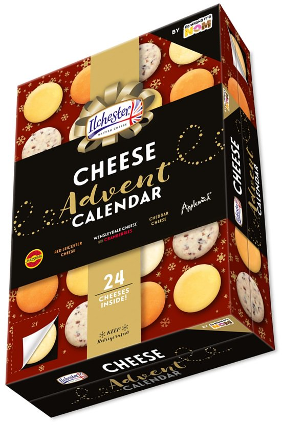 Asda cheese advent calendar