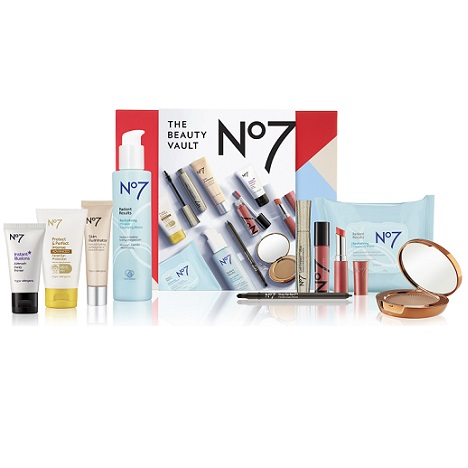 £85 of No7 beauty for £30 in 'Beauty Vault' set