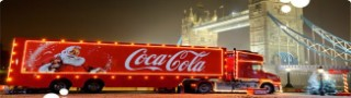 Holidays are coming… How to pick up a free can of Coke and see the Coca-Cola truck this Christmas