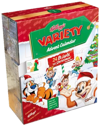 Kellogg's advent calendar