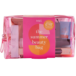 M&S £15 'Summer Beauty Bag' (contents £99 if bought individually)