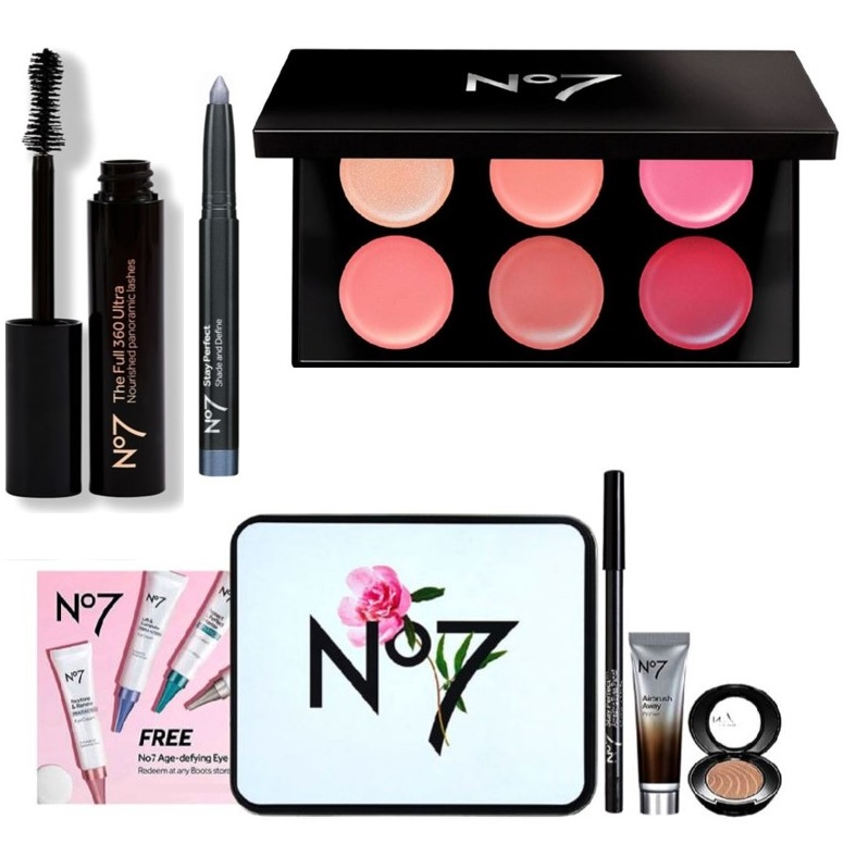 Trick to get £43 of No7 for £11.50 (was £117 of No7 beauty products for £20) online via deals stacking