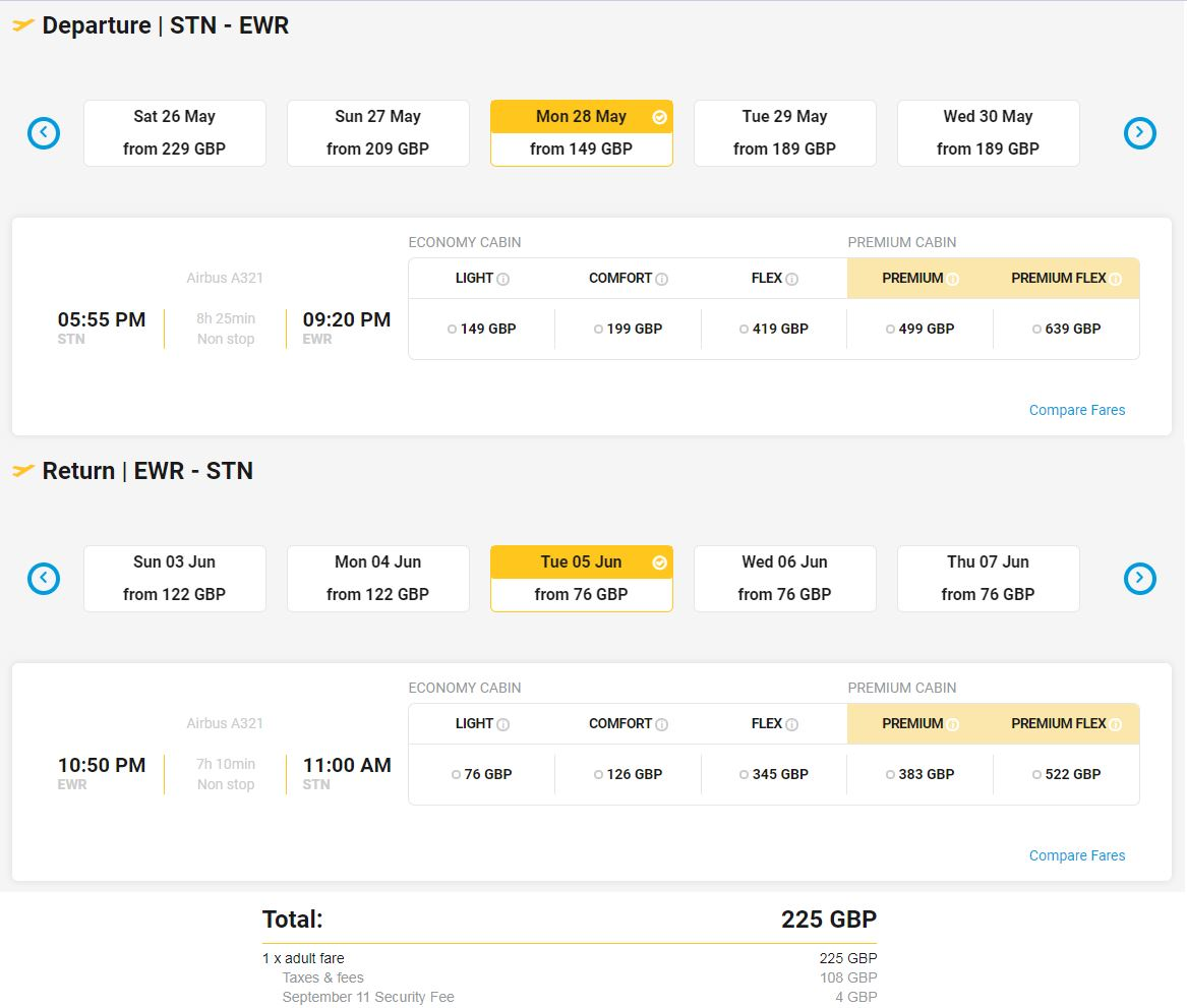 Primera Air Flights