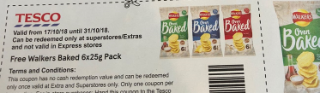 FREE Walkers crisps 6-pack (again and again)