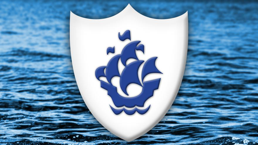 Blue Blue Peter badge