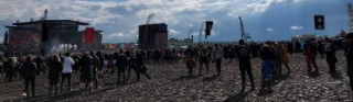 Download Festival muddy arena but clear sky main image