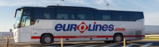 £5 London to Paris, Brussels or Amsterdam return coach trip