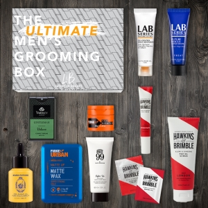 £50ish of men's grooming products for £20